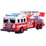 Požiarnické auto s výsuvnou plošinou