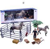 Detská farma s koníkom a žriebätkom