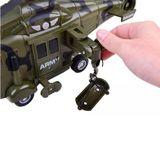 Vojenská helikoptéra na batérie
