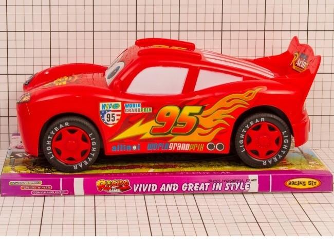 Auto Blesk McQueen 30 cm na zotrvačník