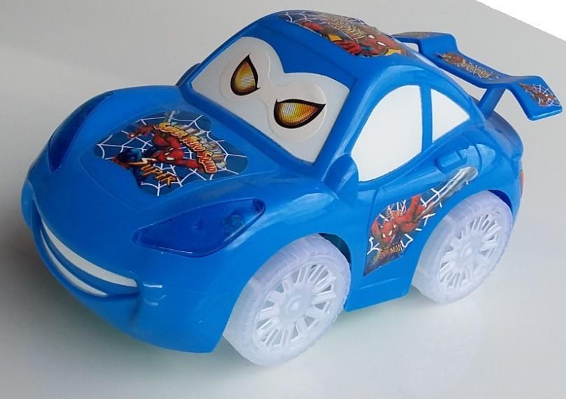 Auto Blesk McQueen na batérie modré