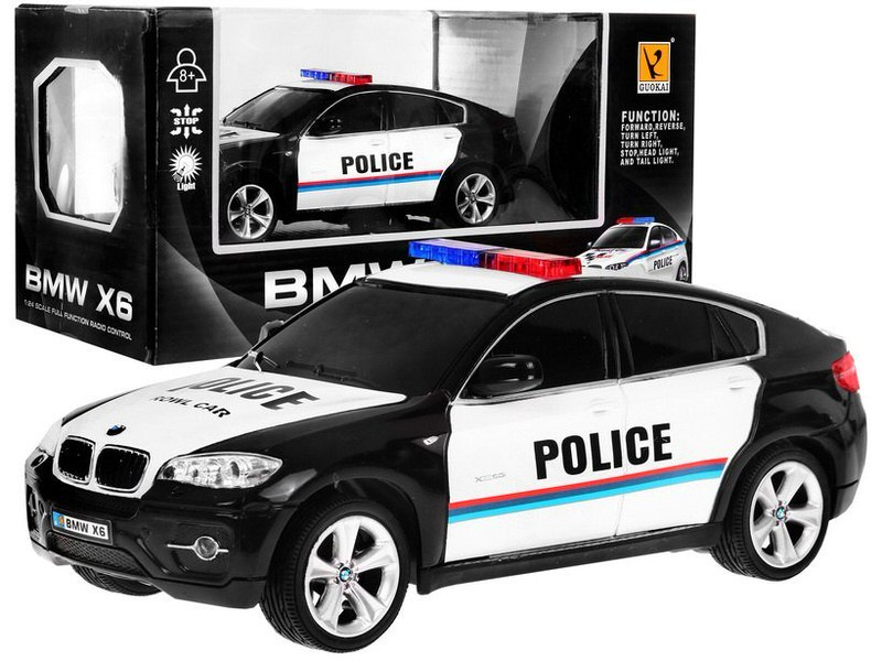 Auto BMW X6 R/C Polícia