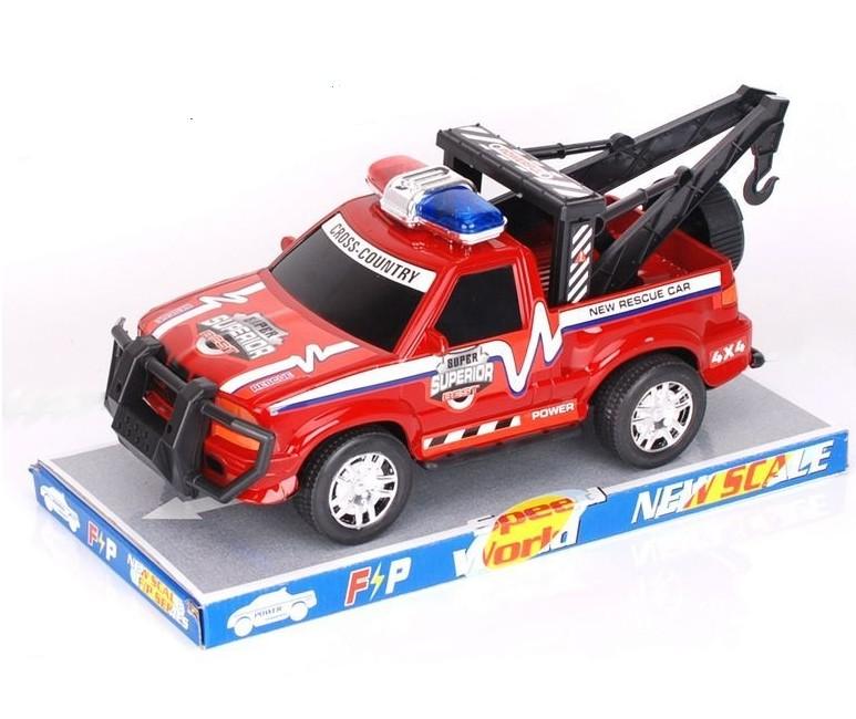 Auto Jeep s navíjakom