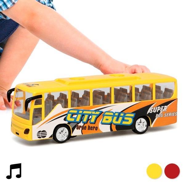 Autobus so svetlom a zvukom City