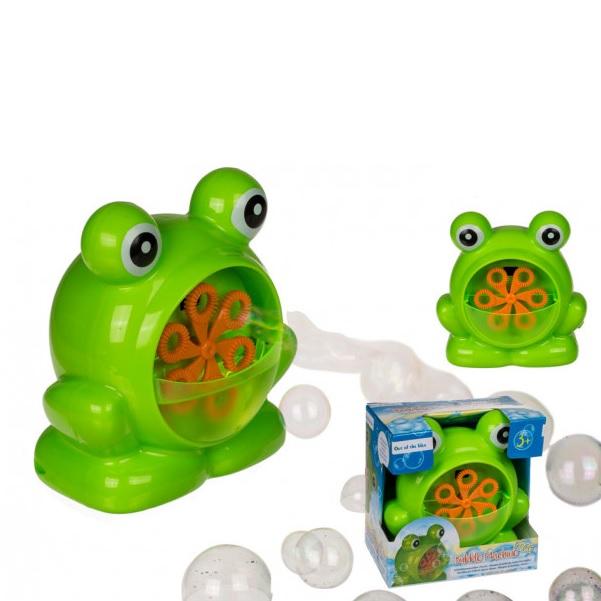 Automatický bublifuk žaba
