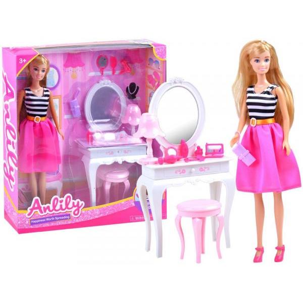 Bábika Anlily s toaletným stolíkom