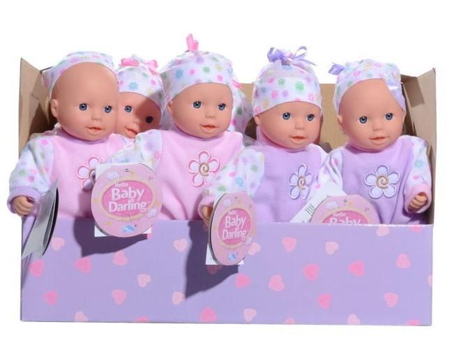 Bábika bábätko Darling
