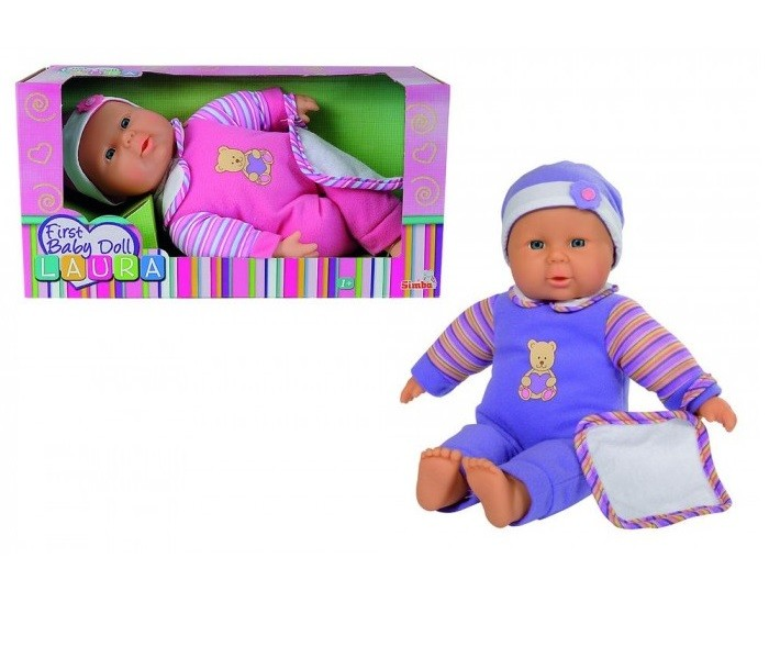 Bábika - bábätko Laura