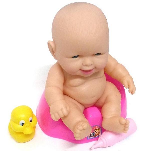 Bábika - bábätko na nočníku