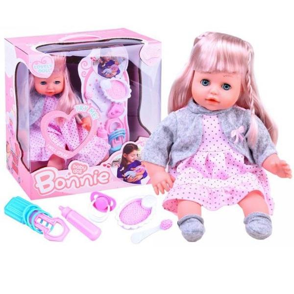 Bábika bábätko s doplnkami 36 cm