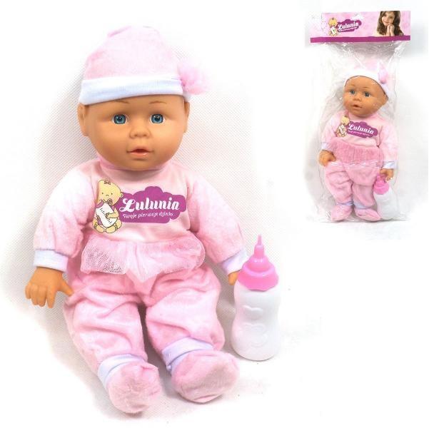 Bábika bábätko s fľaškou