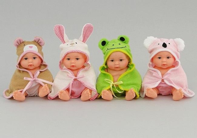 Bábika - bábätko v župane