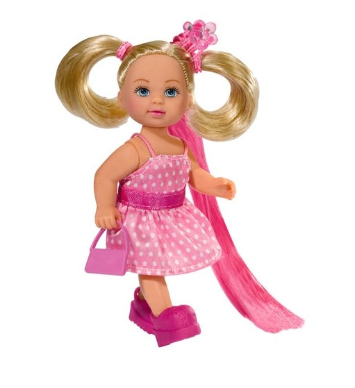 Bábika Evi s dlhými vlasmi