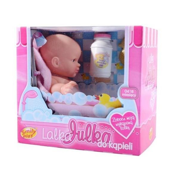 Bábika Julka pripravená do kúpeľa 20 cm