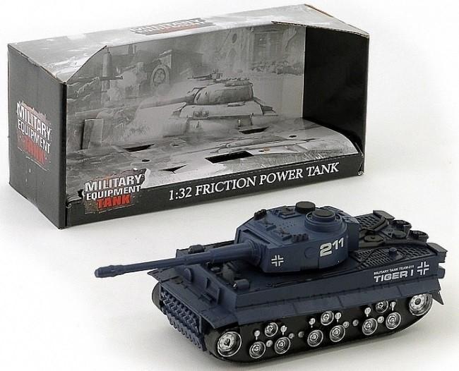 Bojový tank TIGER na batérie