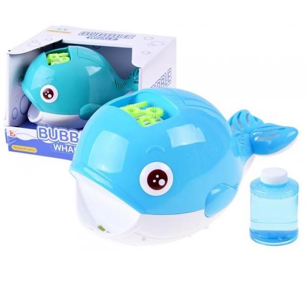 Bublinková veľryba do vane