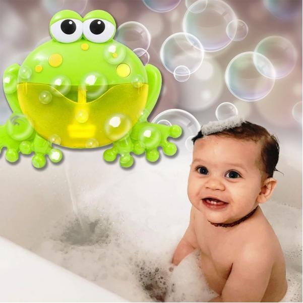 Bublinková žaba do vane s melódiou