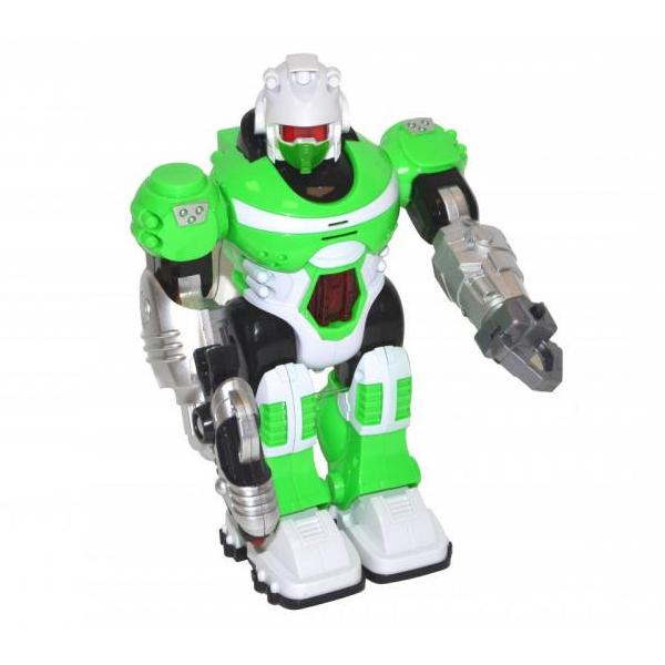 Chodiaci robot na batérie so svetlom a zvukom