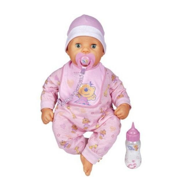 CHOU CHOU bábika ako živé bábätko 48 cm