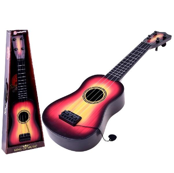 Detská gitara s kovovými strunami