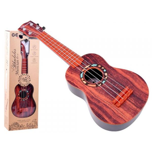 Detská gitara s pasom 54 cm