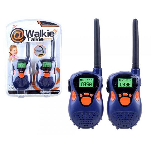 Detské krátkovlnné vysielačky s dosahom do 20 m