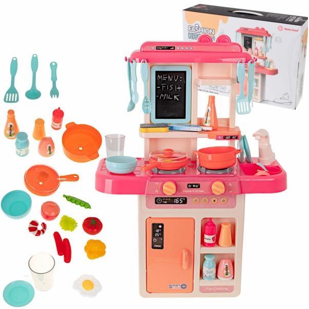 Detská kuchynka pre deti s tečúcou vodou