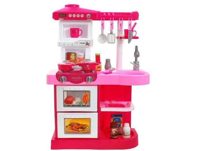 Detská kuchynka s rúrou a umývačkou