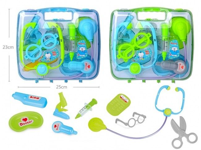 Detská lekárska súprava v kufríku