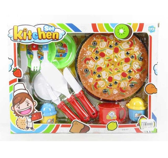 Detská pizza na krájanie