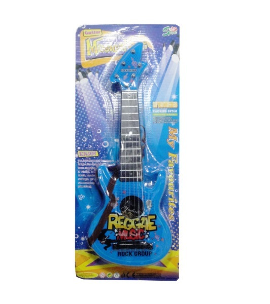 Detská rocková gitara modrá