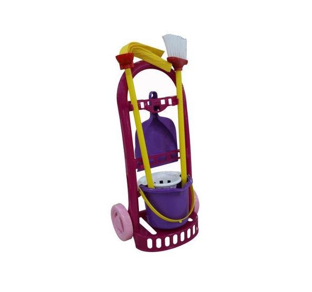 Upratovacia súprava na vozíku