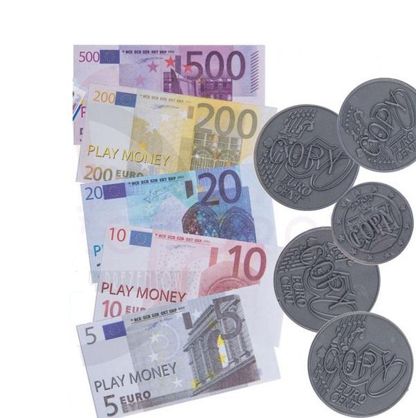 Detské Euro peniaze