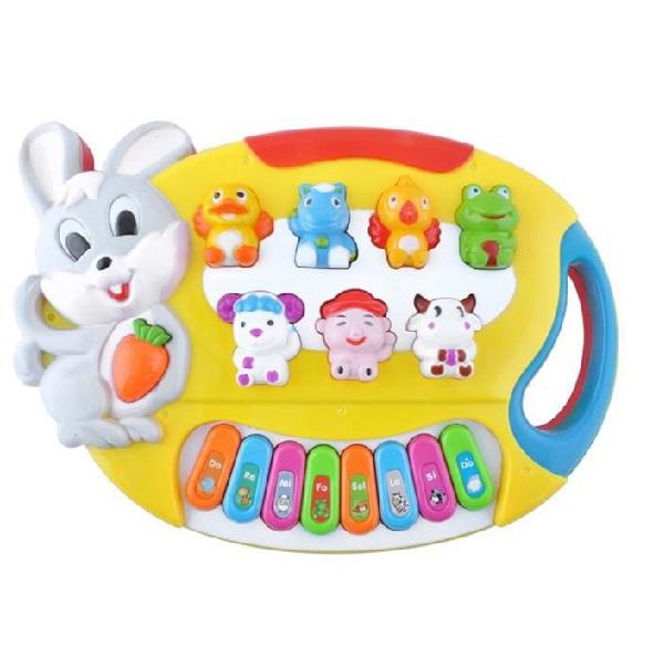 Detský klavír so zvieratkami
