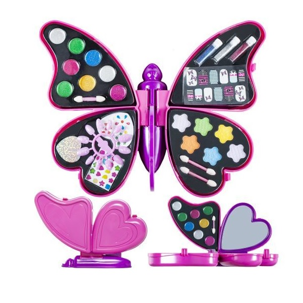 Detský make-up v tvare motýľa