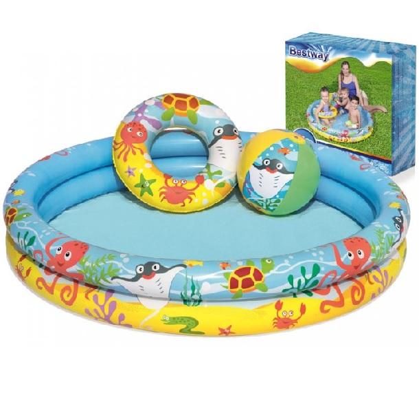 Detský nafukovací bazén 122 cm - Bestway 51124