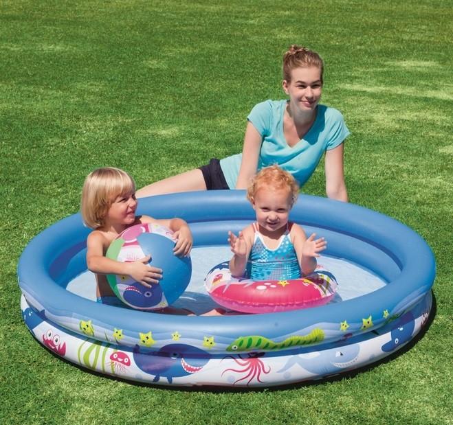 Detský nafukovací bazén 147 cm - set Bestway 51120