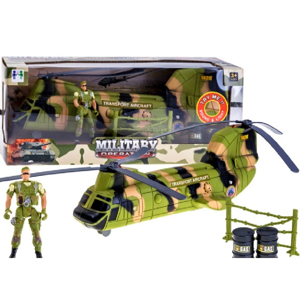 Detský vojenský vrtuľník