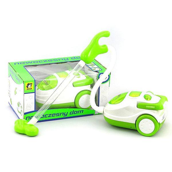 Detský vysávač zelený