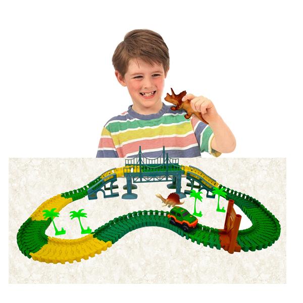 Dinosauria autodráha Car Track