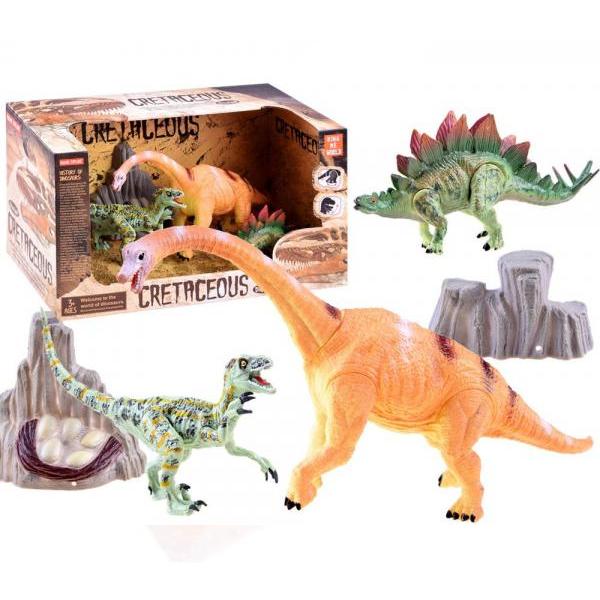 Dinosaury - sada 3 ks - B