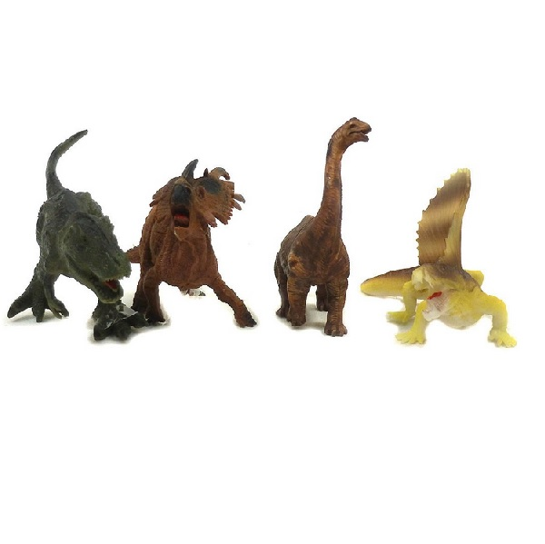 Dinosaury sada 4 ks