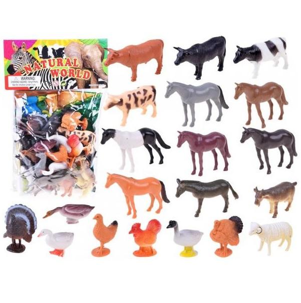 Domáce zvieratá z farmy 20 ks