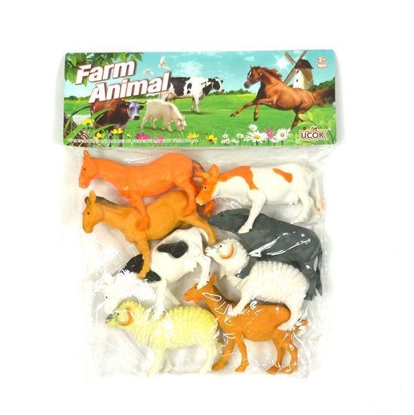 Domáce zvieratá z farmy 8 ks