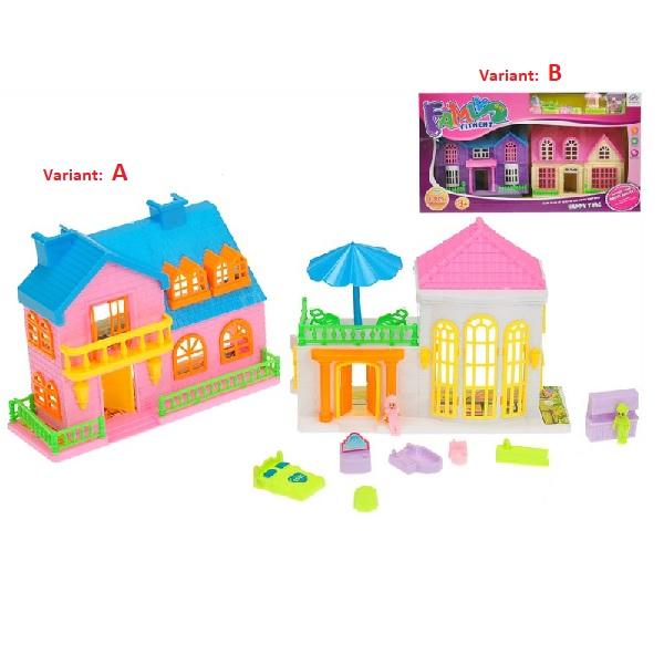 Domček pre bábiky s doplnkami