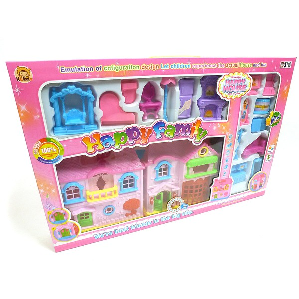 Domček pre bábiky s nábytkom