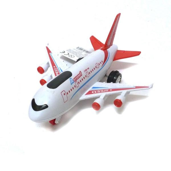 Dopravné lietadlo svetlo a zvuk