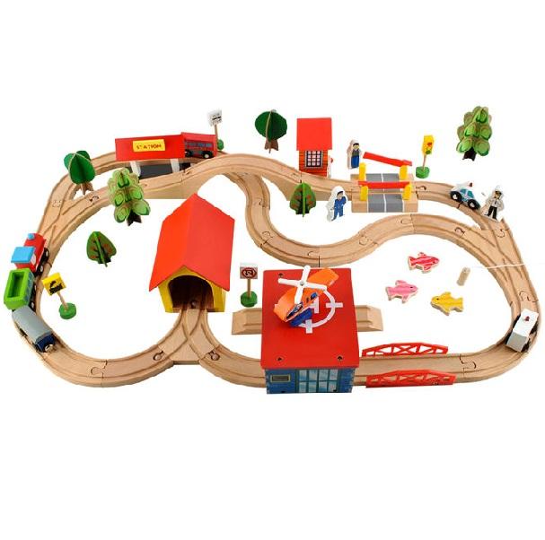 Drevená železnica
