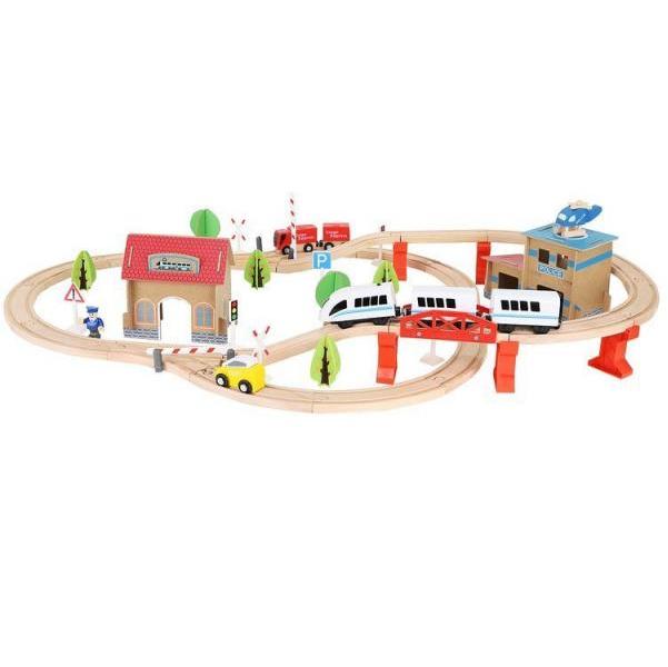 Drevená železnica - autodráha