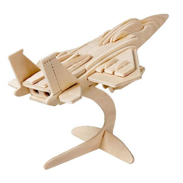 Drevené 3D puzzle - lietadlo